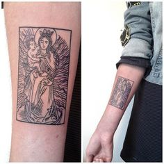 Victor J Webster (I like this idea for a tarot card tattoo)