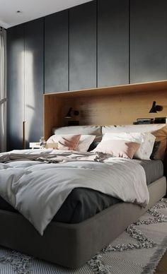 The Stylish Modern Bedroom Furniture (Vintage, Rustic, and Mid Century Bedroom F. The Stylish Modern Bedroom Furniture (Vintage, Rustic, and Mid Century Bedroom Furniture Sets) Small Bedroom Designs, Modern Bedroom Design, Contemporary Bedroom, Modern Bedrooms, Small Modern Bedroom, Modern Minimalist Bedroom, Bedroom Bed Design, Luxury Bedrooms, Small Bedrooms