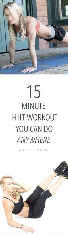 Zuzka Light's 15 minute HIIT workout