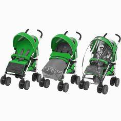 Chicco Wózek spacerowy Multiway Evo, WASABI | MALL.PL Evo, Mall, Baby Strollers, Black, Black People, All Black, Baby Prams