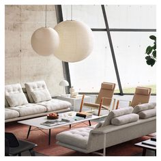 Buy the Akari Pendant Light by Isamu Noguchi and more online today at The Conran Shop, the home of classic and contemporary design Isamu Noguchi, Lounge Decor, Lounge Chairs, Hanging Light Fixtures, Modern Light Fixtures, Architectural Digest, Round Pendant Light, Living Room Lighting, Furniture