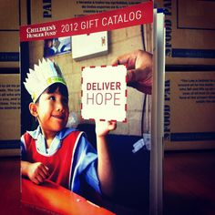 Our 2012 Gift Catalog is online! Are you ready to shop and help a hungry child? www.chfus.org/catalog