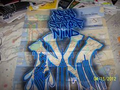 NYC Subway Map Art NY STATE OF MIND: maybe for table cloth idea?