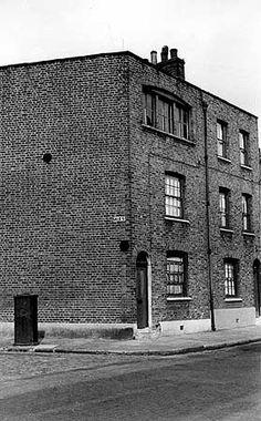 Mape Street, Bethnal Green, Greater London, photo by JM Prest. Vintage London, Old London, East End London, Green Pictures, Bethnal Green, City Scapes, London History, English Heritage, Greater London