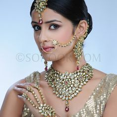 all of it!! Indian Bride Jewellery Set