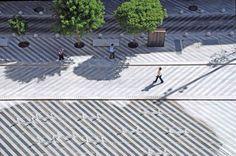Plaza de la Luna, by Brut Deluxe, Ben Busche Architects, Madrid, Spain.