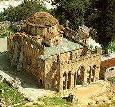 Monastery of DAFNI #Greece