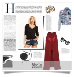 """""""Fall Outfit with SheIn"""" by metropulse on Polyvore featuring moda, Sara Barner, Alice + Olivia, Chanel, Anja, Vetements e Keds"""