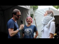 WARPAINT INTERVIEW - LOLLAPALOOZA 2014