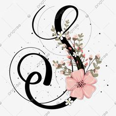 Alphabet Letters Design, Hand Lettering Alphabet, Alphabet And Numbers, Letter Designs, Flower Background Wallpaper, Flower Backgrounds, S Letter Images, Calligraphy Drawing, Beautiful Lettering
