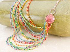 Color Spectrum Necklace