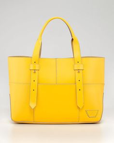 Hello sunshine yellow. Stand out with this Tribeca Harrison Street Tote Bag. #summer
