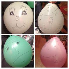 décorer un ballon de baudruche/balloon