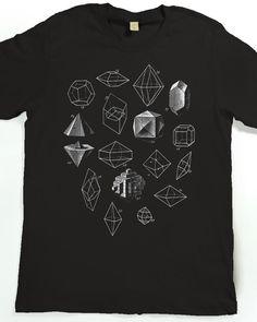 Geometric Shapes T-shirt - Men's Graphic Tee Shirt - Geometric Math Art Tshirt by SlothWingTees on Etsy https://www.etsy.com/sg-en/listing/223051415/geometric-shapes-t-shirt-mens-graphic