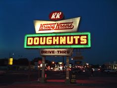 Krispy Kreme Doughnuts - Tampa, FL Nothing like fresh, hot donuts!!