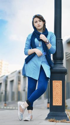 street fashion in iran , women's fashion in iran تیپ اسپرت دخترانه ایران Iranian Women Fashion, Muslim Fashion, Fashion Tips For Women, Fashion Ideas, Beautiful Girl Photo, Beautiful Hijab, Beautiful Women, Muslim Girls, Muslim Women