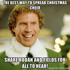 Spread the R+F cheer!  tarajohnson513@hotmail.ca