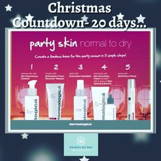 Festive skincare for Normal/Dry Skin to keep you glowing for the Christmas parties! #happyholidays #skinexpert