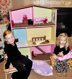 Barbie House Instructions! – All Things Thrifty