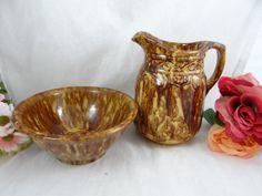 Antique Vintage Bennington Rockingham Glaze by SecondWindShop
