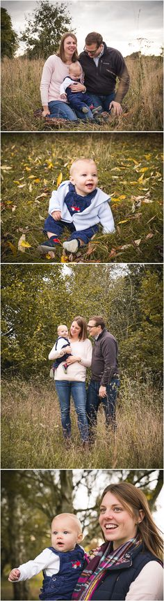 Autumn family photo session by Rainbright Photography