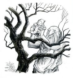 the selfish giant - Selfish Giant Coloring Pages