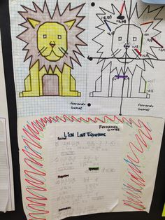 Category: 1 - Walking in Mathland...Animal project - graphing linear lines and writing linear equations
