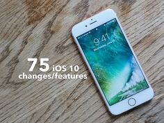 ▶••75 new iOS 10 features reviewed by in 33min•• • iOS10 was revealed at WWDC 2016-06-13 Mon alongside MacOS / tvOS / wachOS • see the full 2hr keynote http://www.apple.com/apple-events/june-2016