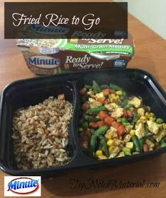 Top Notch Material: Fried Rice To Go from Minute Ready to Serve Rice
