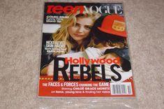 CHLOE GRACE MORETTZ HOLLYWOOD REBELS October 2016 TEEN VOGUE MAGAZINE NEW SEALED | Books, Magazine Back Issues | eBay!