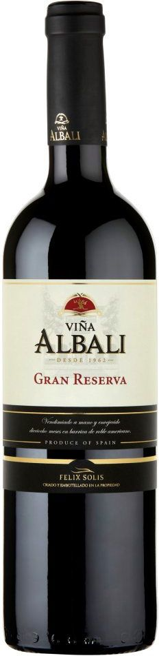 Tempranillo 2006 *Viña Albali* - Felix Solis winery, Valdepeñas, Castilla La Mancha, Spain