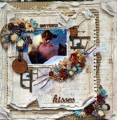 Life's little Embellishments: Butterfly Kisses ***Maja Design***