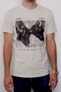 Buffalo Shirt- Mens  by Sub_Urban Riot $32
