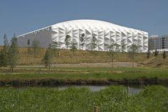 London 2012 Basketball Arena, London E9, UK - Wilkinson Eyre Architects #sport