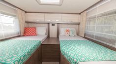 Inside the stylish Alpine 4 motorhome from Wilderness Motorhomes New Zealand