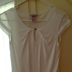 NWOT H&M sheer & jersey blouse H&M blouse NWOT absolutely beautiful -sheer cap sleeves button neckline H&M Tops Blouses
