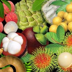 Tropical fruits (Heaven!)