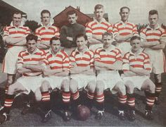 Doncaster Rovers team group in Doncaster Rovers, 1950s, Football, Group, Fictional Characters, Soccer, American Football, Soccer Ball, Futbol