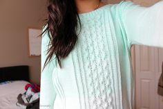 Oversized Sweaters #TeenFashion