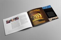 Quinnipiac University Annual Report Graphic Design: Granite Bay Design
