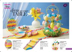 Dress up your table for Easter!