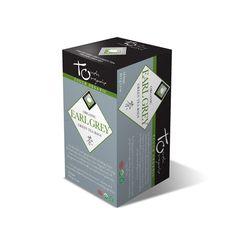 Touch Organic Earl Grey Green Tea-Touch Organic - Certified Organic Teas