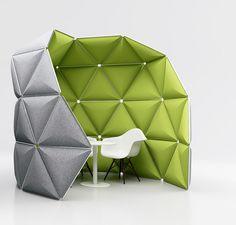 KIVO collaborative space by Alex Lorenz  to Herman Miller