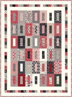 Fabric Mill: Mama Said Sew Jelly Roll Quilt