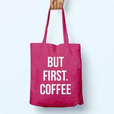 Tea Yoga Naps Slogan Quote Cotton Shopper by PaperTigersApparel Reusable Shopping Bags, Reusable Tote Bags, Shopping Bag Design, Cotton Gifts, Cotton Bag, Shopper Tote, Otter, Black Print, Back To School