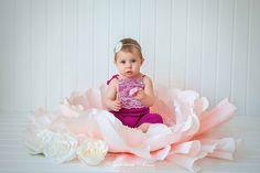 Цветок для новорожденных и маленьких малышек! – 10 фотографий