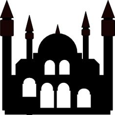 mosque silhouette - Google Search