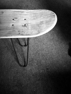 DIY stool for when you're too old to skate anymore...