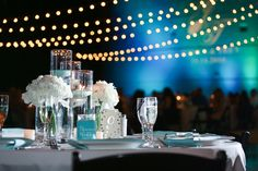 Here's a look at one of our recent receptions on the terrace!  Photo By: Live Happy Studio