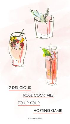 Holiday party cocktail ideas.